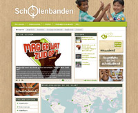 Scholenbanden-website