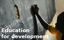Education for development
