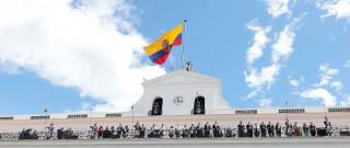VVOB-delegatie op audiëntie bij president Rafael Correa