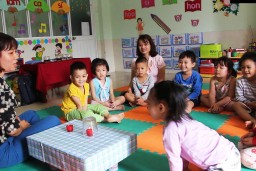 By focusing on preschool children's wellbeing and involvement as a proxy for learning, participants identified barriers both within and outside the school environment
