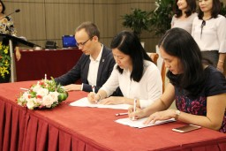 CITIES was signed by representatives from VVOB and the Department of Education and Training in Da Nang