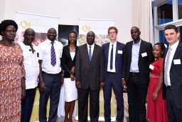 The VVOB team in Uganda meets its partners from the NTCs and NICA