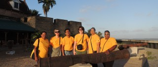 Scholenband Mater Dei Overpelt en Openbare Nijverheidsschool Paramaribo
