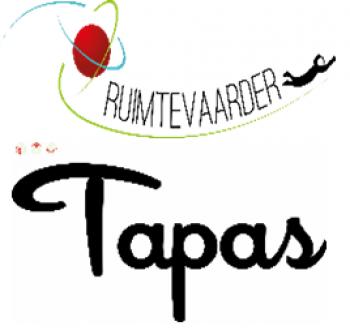 Ruimtevaarder en TapasCity logo's