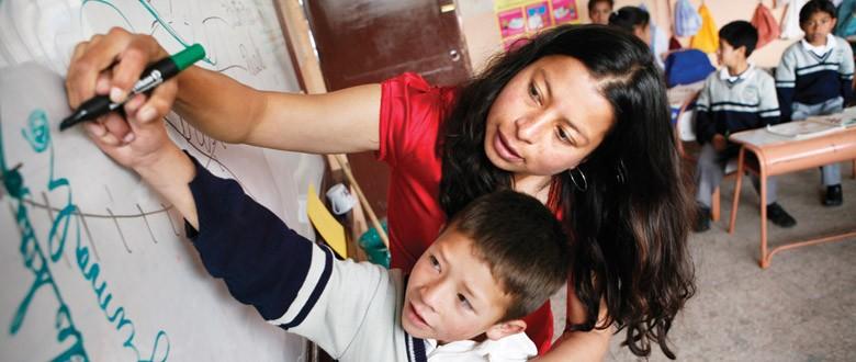 Ecuador - Scholen als actoren van verandering