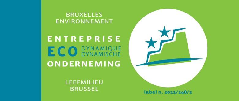 Het hoofdkantoor van VVOB is erkend als Ecodynamische onderneming
