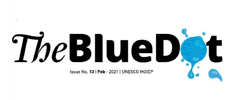 The Blue DOT banner