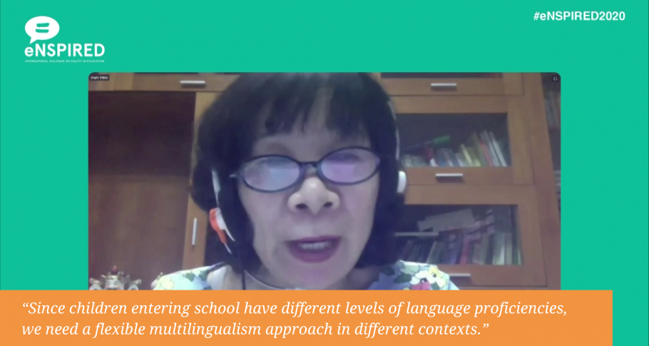 Vu Thi Thanh Huong (Institute of Linguistics, Vietnam Academy of Social Sciences) for eNSPIRED