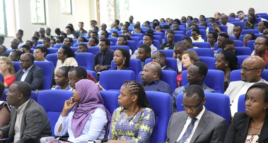 Full house for Mr Van Rompuy's lecture at the University of Rwanda