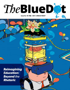 The Blue DOT cover