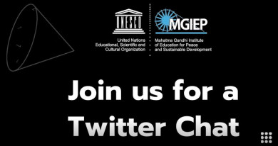 MGIEP Twitter chat banner