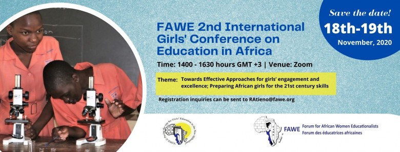FAWE Conference banner