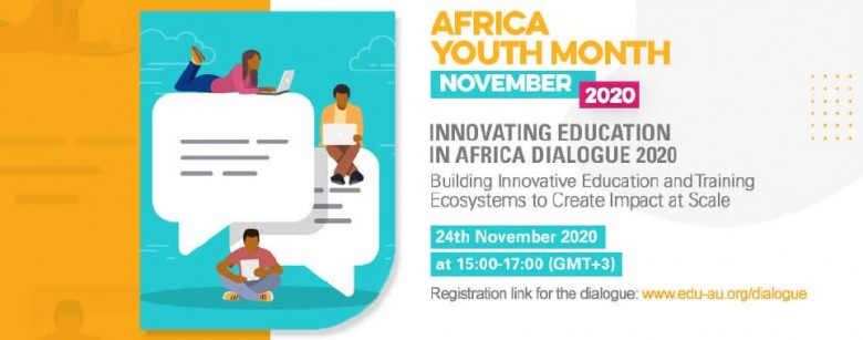 Innovating Education in Africa Dialogue banner