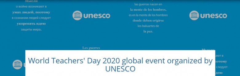 WTD 2020 conference UNESCO