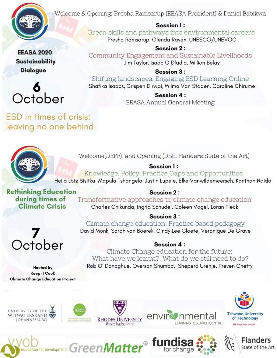 EEASA 2020 conference programme